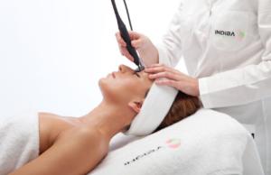 tratamiento facial indiba radiofrecuencia