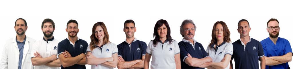 Equipo Unidad del Dolor Clínica J.J. Boscà Tavernes de la Valldigna - Valencia